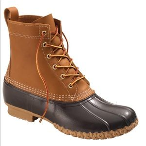 "8"" L.L. Bean Duck Boots"